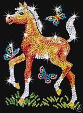 Набор для творчества Sequin Art RED Freya Foal SA0905