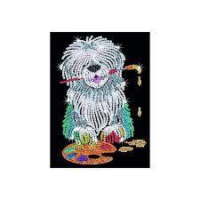 Набор для творчества Sequin Art RED Pablo Sheepdog SA1415