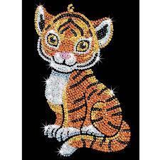 Набор для творчества Sequin Art RED Tia Tiger SA1413