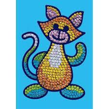 Набор для творчества Sequin Art SEQUIN MAGIC Cat SA0718