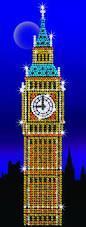 Набор для творчества Sequin Art STRICTLY Big Ben SA1406