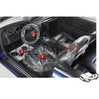 Набор одноразовых защитных чехлов для автомобиля 3 в 1 100 комплектов