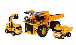 Набір машинок Same Toy Builder Кар'єрна техніка R1807Ut