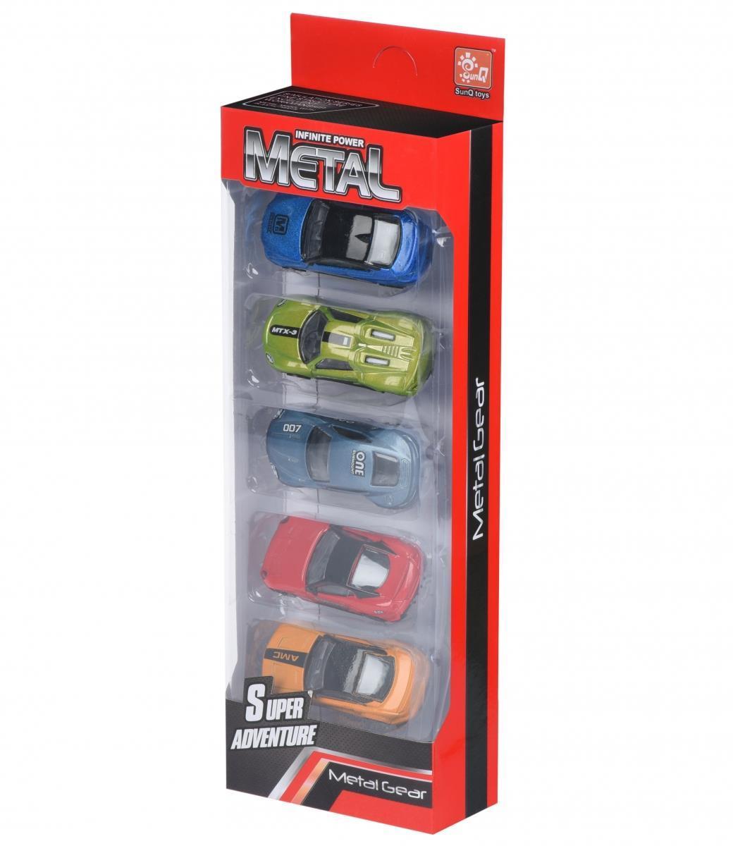 Набор машинок Same Toy Metal Гонщики SQ80865-FUt