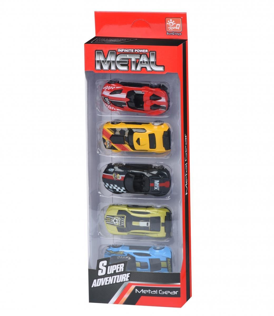 Набор машинок Same Toy Metal Спорткары SQ80865-AUt