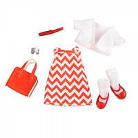 Набор одежды для кукол LORI Платье с принтом LO30009Z