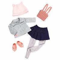 Набор одежды для кукол Our Generation  Deluxe для школы BD30277Z