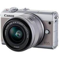 Цифровой фотоаппарат Canon EOS M100 15-45 IS STM Kit Grey (2211C044)