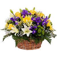 Корзина цветов доставка