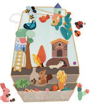 Настенная игрушка Oribel Veritiplay Волшебный сад OR817-90001