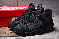 Кроссовки мужские Nike More Uptempo, черные (14821),  [  41 42 43 44 46  ]