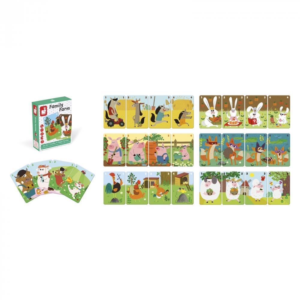 Настольная игра Janod Happy Families Ферма J02756