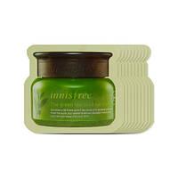Крем для кожи вокруг глаз с экстрактом семян зеленого чая INNISFREE Green Tea Seed Eye Cream (пробник), фото 1