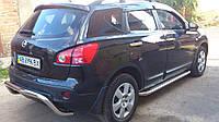 "Пороги ""Premium"" Nissan Qashqai (2007-2010)"