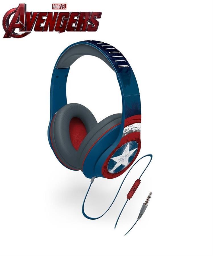 Наушники eKids/iHome MARVEL, Captain America, Mic