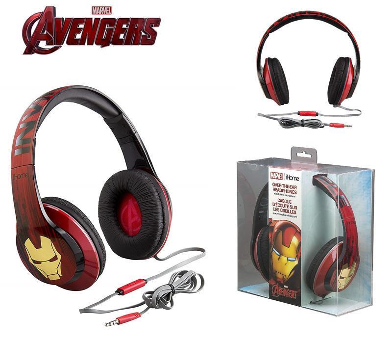 Наушники eKids/iHome MARVEL, Iron Man, Mic