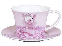 Чайный набор Lefard Свинка Королева 2 предмета 27 см 924-308