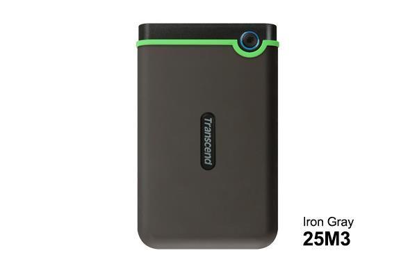 НЖМД Transcend StoreJet 2.5 USB 3.0 2TB Iron Gray Slim