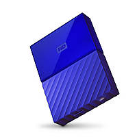 НЖМД WD 2.5 USB 3.0 1TB My Passport Blue