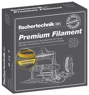 Нить для 3D принтера fisсhertechnik желтый 500 грамм (коробка) FT-539144