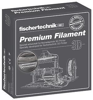 Нить для 3D принтера fisсhertechnik серебряный 500 грамм (коробка) FT-539141