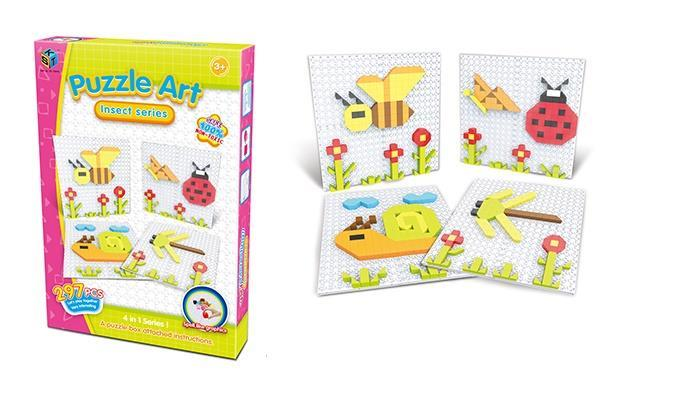 Пазл Same Toy Puzzle Art Insect serias 297 эл. 5992-1Ut