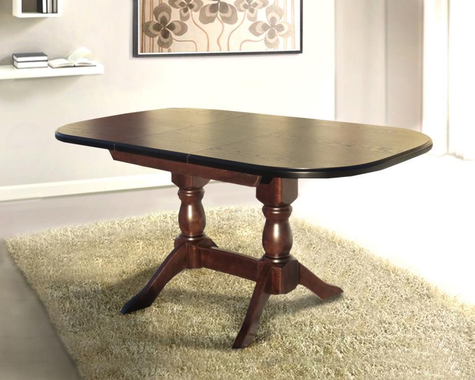 Стол кухонный деревянный Орфей Микс мебель, цвет орех