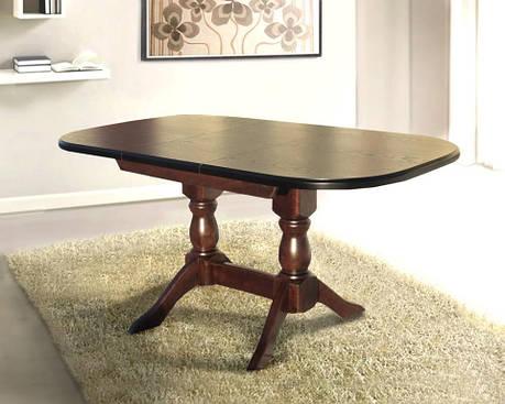 Стол кухонный деревянный Орфей Микс мебель, цвет орех, фото 2