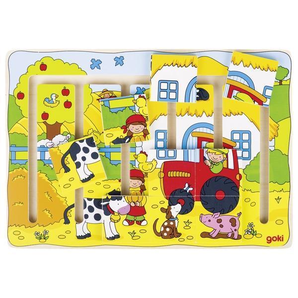 Пазл-головоломка goki Наша ферма 57596