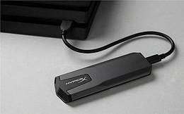 Портативный SSD USB 3.1 Gen 2 Type-C Kingston HyperX Savage EXO 960GB 3D TLC
