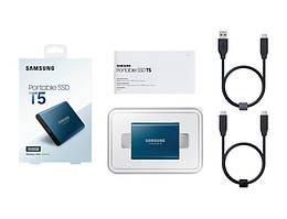Портативный SSD USB 3.1 Gen 2 Type-C Samsung T5 500GB