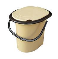 """Ведро туалет 15 литров. Биотуалет """"Горизонт"""" + Видео, фото 1"""