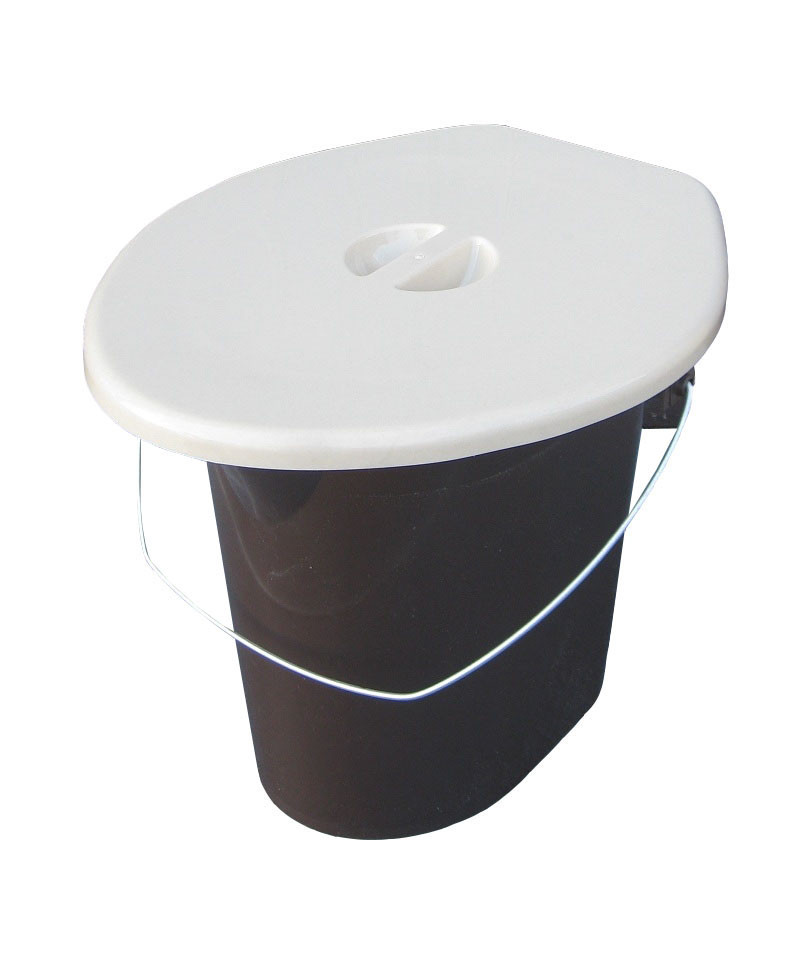"Ведро туалет 16 литров. Биотуалет ""ПолимерАгро"" + Видео"