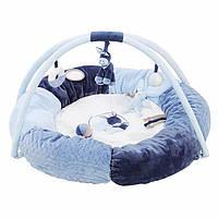 Развивающий коврик с дугами и подушками Nattou Алекс и Бибу 321259