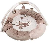 Развивающий коврик с дугами и подушками Nattou Макс, Ноа и Том 777322