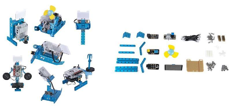 Розширення для mBot і mBot Ranger: гаджети сприйняття (Perception gizmos add-on pack for mBot & mBot Ranger)