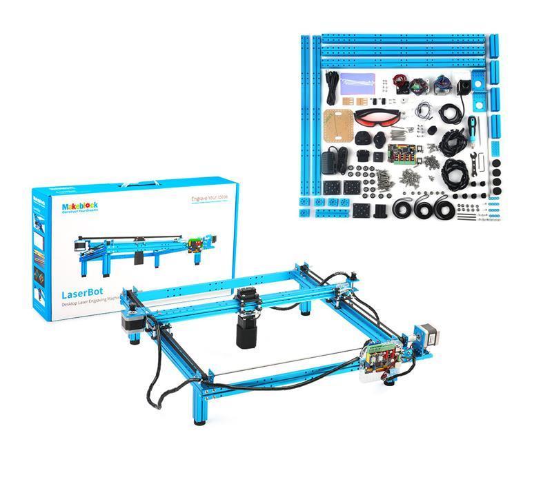 Робот-конструктор Makeblock LaserBot v1.0 Blue