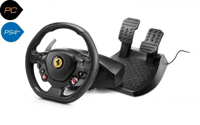 Руль и педали Thrustmaster для PC/PS4 T80 FERRARI 488 GTB EDITION