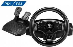 Кермо і педалі для PS3/PS4 Thrustmaster T80 Racing Wheel