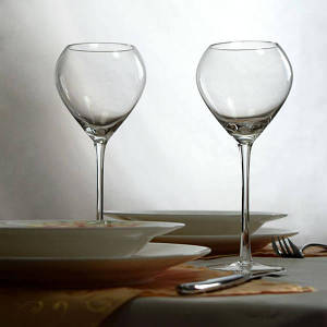 Комплект бокалов для белого вина 2шт. по 250 мл бокалы