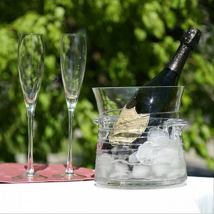 Комплект бокалов для шампанского 2 шт. по 200 мл бокалы, фото 2