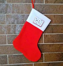 Сапожок новогодний для подарков именной 29*22 см носок чулок шкарпетка для подарунків, фото 3