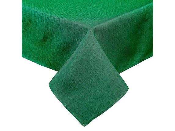 Скатерть новогодняя гобеленовая зеленая 260 х 137 см, фото 2