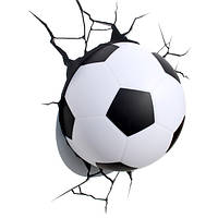 Светильник Футбольный мяч 3D в стене, фото 1