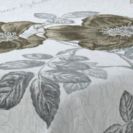 Покрывало жаккардовое Rose 30 beige 245x270 см , фото 2
