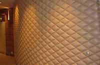 Стеновые мягкие панели из искусственной кожи и ткани в Симферополе