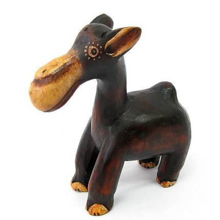 "Статуэтка деревянная ""Верблюд"" (12 см) (Индонезия) ( 19046), фото 2"