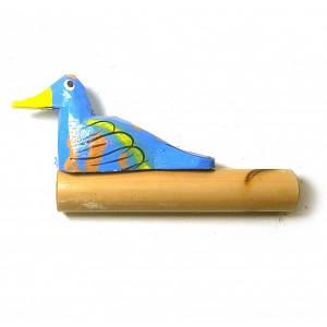 """Музыкальный инструмент """"Крякающая утка"""" синяя (11х5,5х2 см) ( 29610D)"""