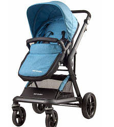 Універсальна коляска 2в1 Miqilong Mi Baby T800 Navy Blue (T800-U2BL01)