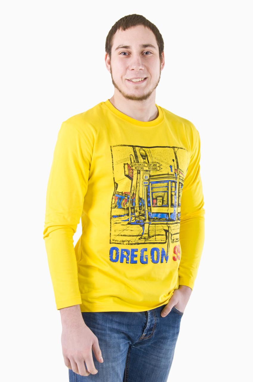 Bono Футболка мужская с длинным рукавом Oregon 3 с принтом цена ... 228084abd831e